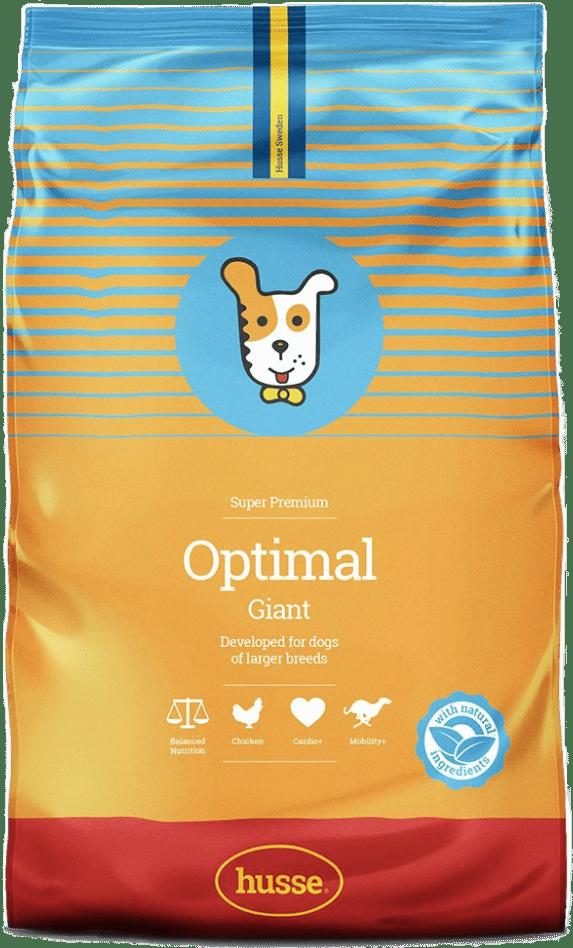 Купить корм для собак HUSSE OPTIMAL GIANT 15 кг. в магазине Makpets