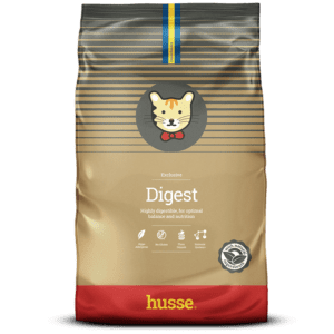 Купить корм для кошек HUSSE EXCLUSIVE DIGEST в магазине Makpets