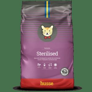 Купить корм для кошек HUSSE EXCLUSIVE KATT STERILISED в магазине Makpets