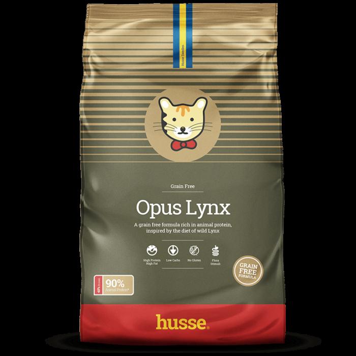 Купить корм для кошек HUSSE EXCLUSIVE OPUS LYNX в магазине Makpets