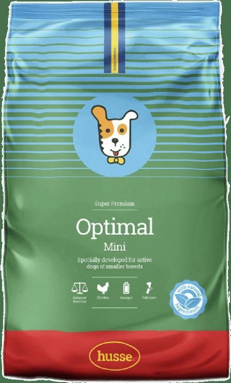 Купить корм для собак HUSSE OPTIMAL MINI 2 кг. в магазине Makpets