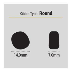 Размеры гранул корма для собак Husse Pro Selekt: 20 кг. в магазине Makpets