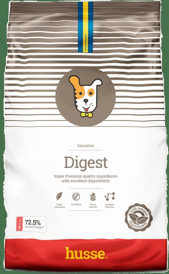 Купить корм для собак HUSSE DIGEST SENSITIVE 12 кг. в магазине Makpets