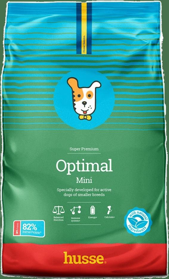 Купить корм для собак HUSSE OPTIMAL MINI 7 кг. в магазине Makpets