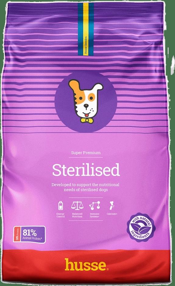 Купить корм для собак HUSSE STERILISED 15 кг. в магазине Makpets