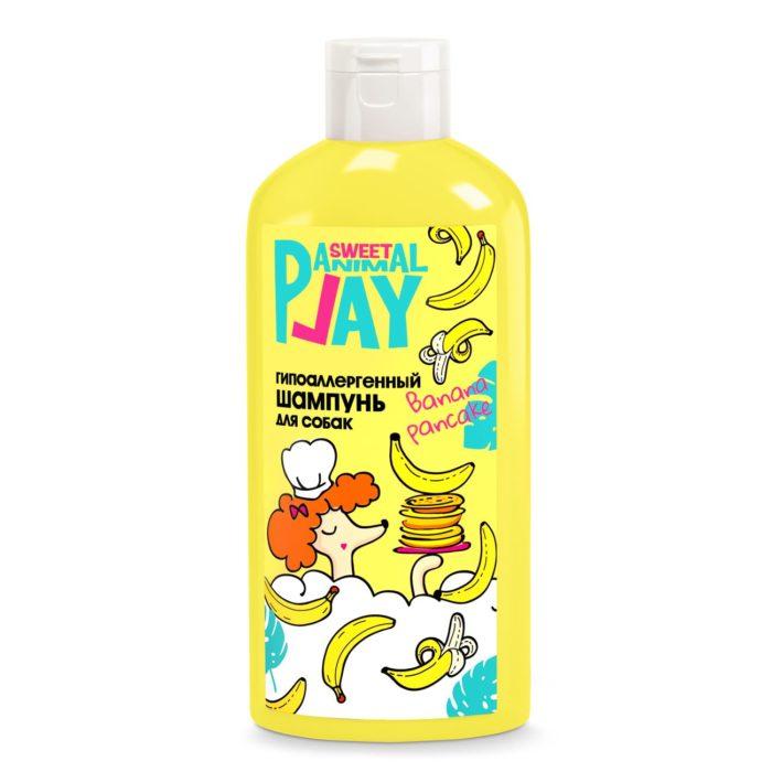 Шампунь для собак Банановый панкейк Энимал Плэй (Animal Play), 300 мл