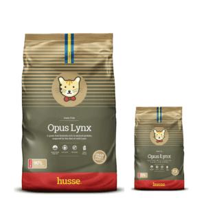 Купить корм для кошек HUSSE EXCLUSIVE OPUS LYNX промо набор в магазине Makpets