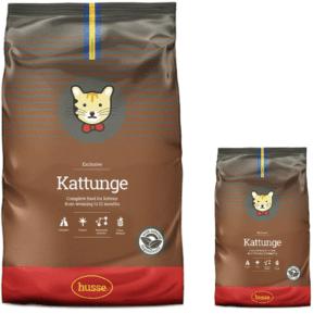 Купить корм для кошек HUSSE EXCLUSIVE KATTUNGE 2 кг. в магазине Makpets промо набор