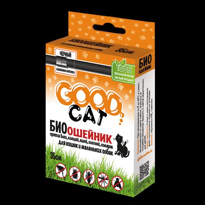 Купить Антипаразитарный биоошейник «GOOD CAT» для кошек и маленьких собак