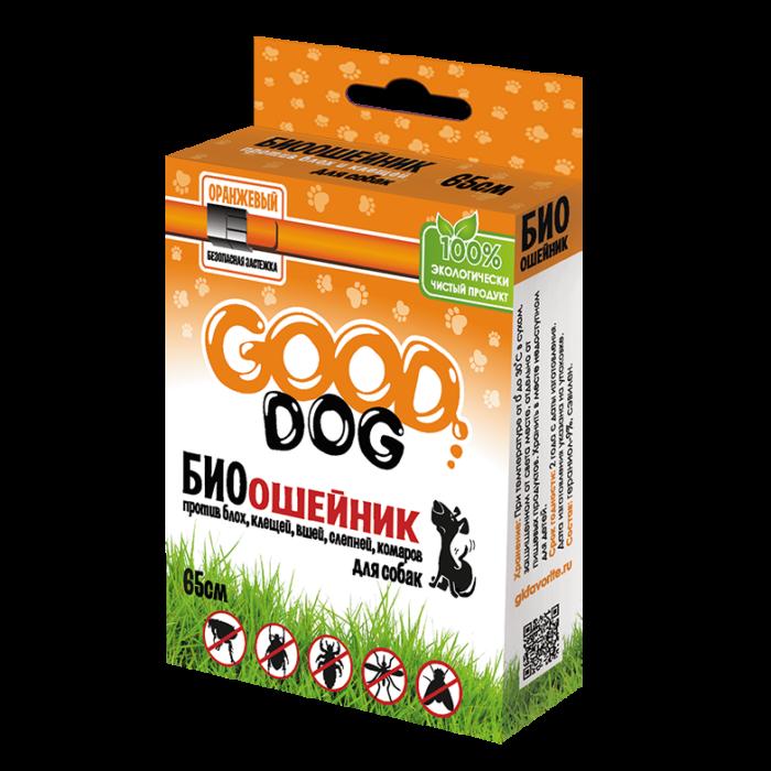 Купить Антипаразитарный биоошейник «GOOD DOG» для собак
