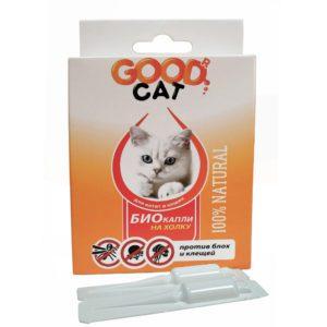 Купить Good Cat Антипаразитарные БИО капли для котят и кошек от блох и клещей