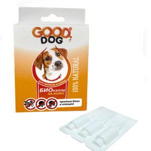 Купить Good Dog Антипаразитарные БИО капли для щенков и собак